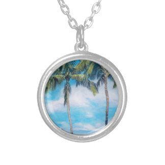 Oahu Silver Plated Necklace