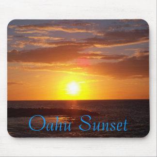 Oahu Sunset Mouse Pad