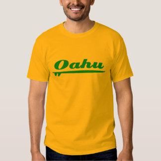 Oahu surfboard blue tshirts