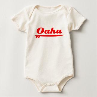 Oahu surfboard red bodysuits