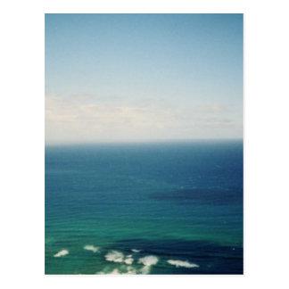 Oahu waters postcard