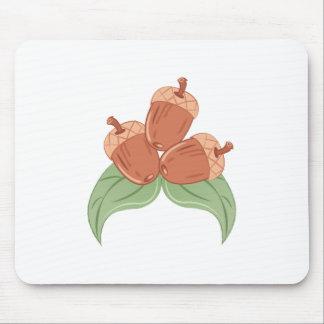 Oak Acorns Mouse Pad