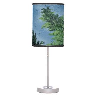 """Oak And Sky"" Lamp"