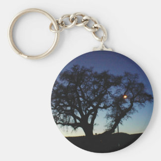 Oak at Dusk Keychain