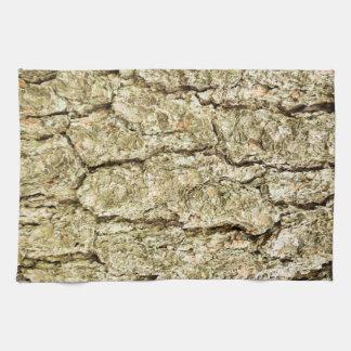 Oak Bark Hand Towel