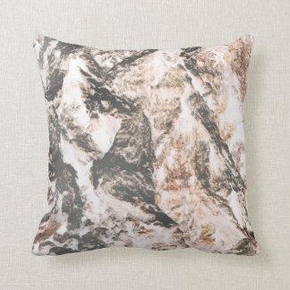 Oak bark inverted lava like background throw pillow