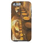 Oak barrles in the cellar at Domaine Comte Tough iPhone 6 Case