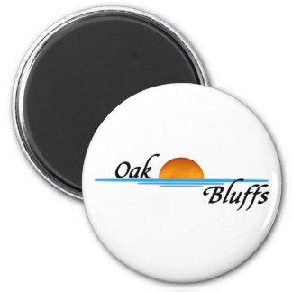 Oak Bluffs 2 Inch Round Magnet
