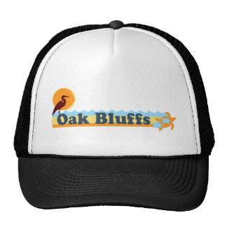 """Oak Bluffs """"Beach"""" Design. Trucker Hat"""