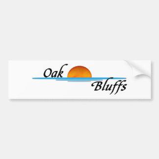 Oak Bluffs Car Bumper Sticker