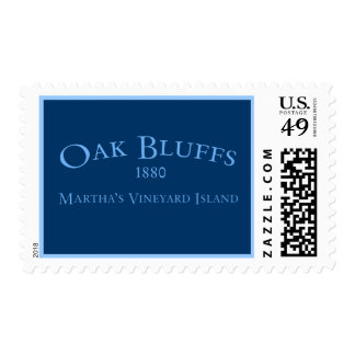 Oak Bluffs Incorporated 1880 Postage Stamp