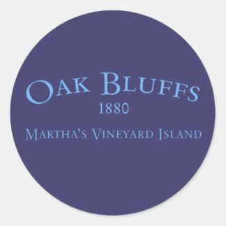 Oak Bluffs Incorporated 1880 Sticker