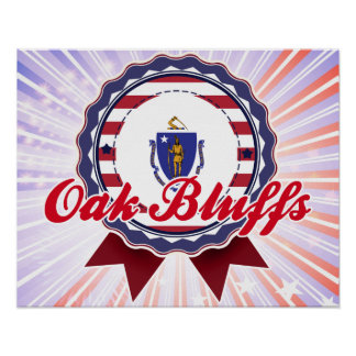 Oak Bluffs, MA Poster