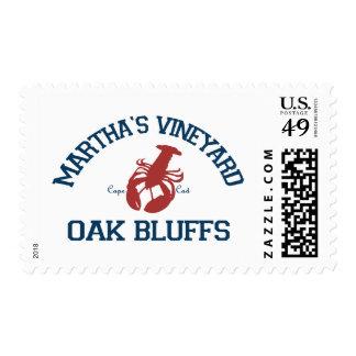 Oak Bluffs - Massachusetts. Postage