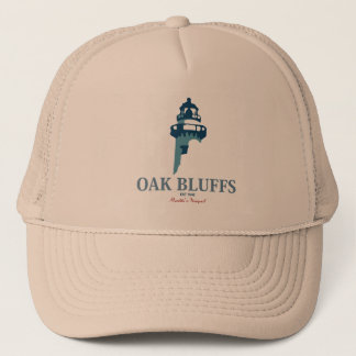 Oak Bluffs - Massachusetts. Trucker Hat