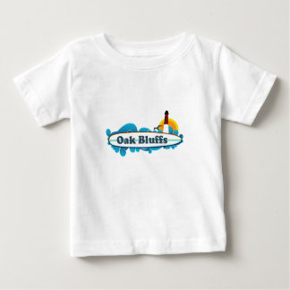 """Oak Bluffs """"Surf"""" Design. Baby T-Shirt"""