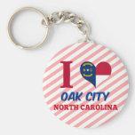 Oak City, North Carolina Key Chains