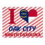 Oak City, North Carolina Post Cards