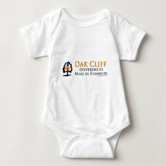 Oak Cliff - Differences Make us Stronger! Baby Bodysuit