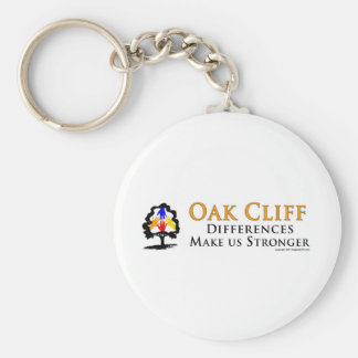Oak Cliff - Differences Make us Stronger! Keychain