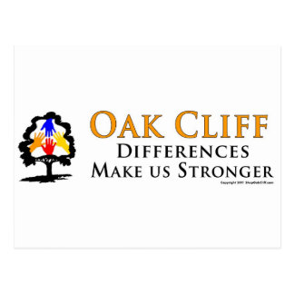 Oak Cliff - Differences Make us Stronger! Postcard
