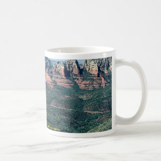 Oak Creek Canyon from Schnebly Hill Road highway Coffee Mugs