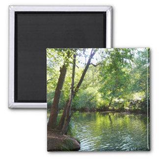 Oak Creek I in Sedona Arizona Nature Photography 2 Inch Square Magnet