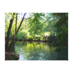 Oak Creek I in Sedona Arizona Nature Photography Canvas Print