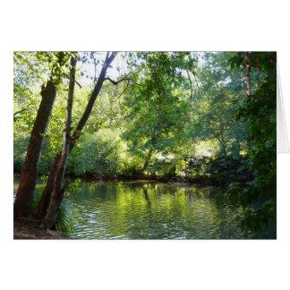 Oak Creek I in Sedona Arizona Nature Photography Card