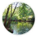 Oak Creek I in Sedona Arizona Nature Photography Ceramic Knob