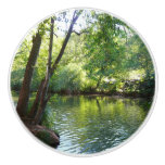 Oak Creek I in Sedona Arizona Nature Photography Ceramic Knob