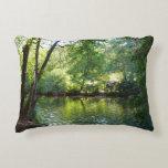 Oak Creek I in Sedona Arizona Nature Photography Decorative Pillow