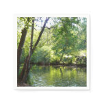 Oak Creek I in Sedona Arizona Nature Photography Paper Napkin