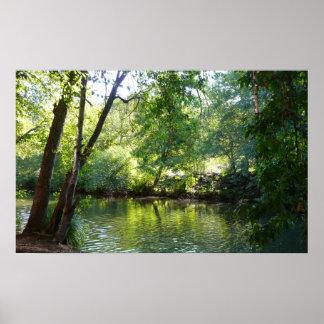 Oak Creek I in Sedona Arizona Nature Photography Poster