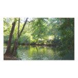 Oak Creek I in Sedona Arizona Nature Photography Rectangular Sticker