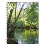 Oak Creek I in Sedona Arizona Nature Photography Spiral Notebook