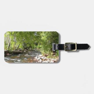 Oak Creek II in Sedona Arizona Nature Photography Bag Tag