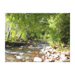 Oak Creek II in Sedona Arizona Nature Photography Canvas Print