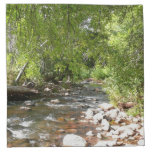 Oak Creek II in Sedona Arizona Nature Photography Cloth Napkin