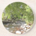 Oak Creek II in Sedona Arizona Nature Photography Drink Coaster