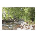 Oak Creek II in Sedona Arizona Nature Photography Hand Towel