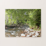 Oak Creek II in Sedona Arizona Nature Photography Jigsaw Puzzle