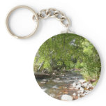 Oak Creek II in Sedona Arizona Nature Photography Keychain