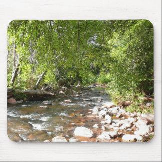 Oak Creek II in Sedona Arizona Nature Photography Mouse Pad