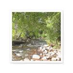 Oak Creek II in Sedona Arizona Nature Photography Paper Napkin
