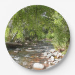 Oak Creek II in Sedona Arizona Nature Photography Paper Plate