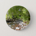 Oak Creek II in Sedona Arizona Nature Photography Pinback Button