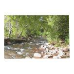 Oak Creek II in Sedona Arizona Nature Photography Placemat