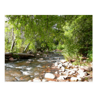 Oak Creek II in Sedona Arizona Nature Photography Postcard