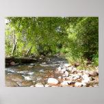 Oak Creek II in Sedona Arizona Nature Photography Poster